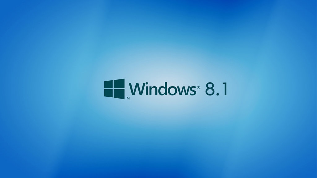 Windows 8.1 Wallpaper blueish