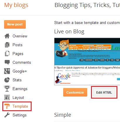 JQuery Scroll To Top Button For Blogger