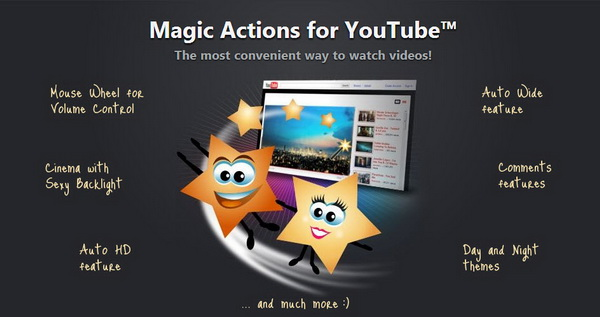 Magic-Actions-for-Youtube-Chrome-Extension
