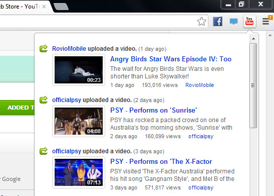 Youtube-Feed-Chrome-Extension-for-Youtube