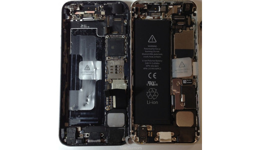 iPhone 5S / iPhone 6: glut of new photos appear, show larger battery