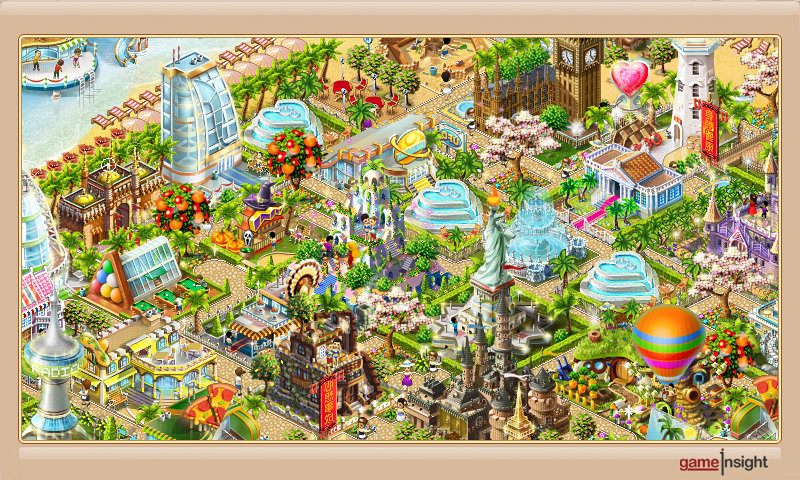 Paradise Island is a management game for having fun time